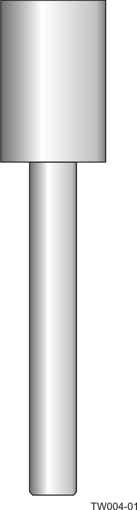 Weld-in barstock thermowell - straight form