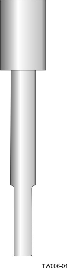 Weld-in barstock thermowell - straight form and step-down shank